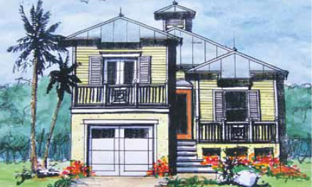coastal home designs phipps home design - Coastal Home Design
